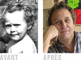 Marc Dumas - portrait avant apres