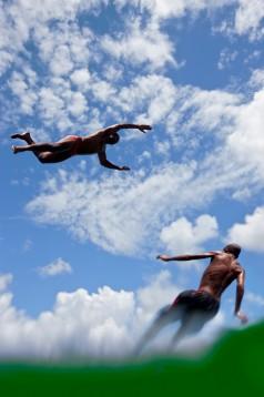 ikaros - plongeurs - porto da Barra, Salvador de Bahia, Brésil - photographie © Marc Dumas