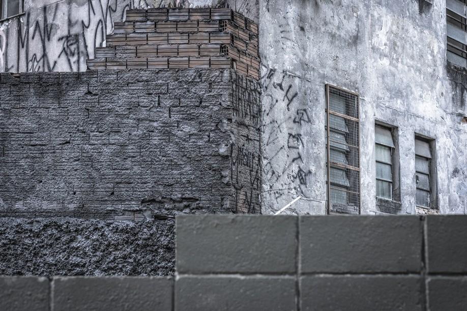 SP/CINZA - São Paulo - Brésil - photographie © Marc Dumas