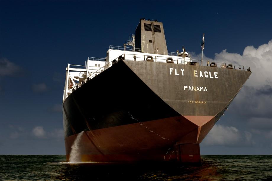 cargos - porto da Barra, Baie de tous les Saints, Salvador de Bahia, Brésil - photographie © Marc Dumas